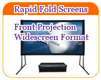 Rapid Fold Widescreen screens front